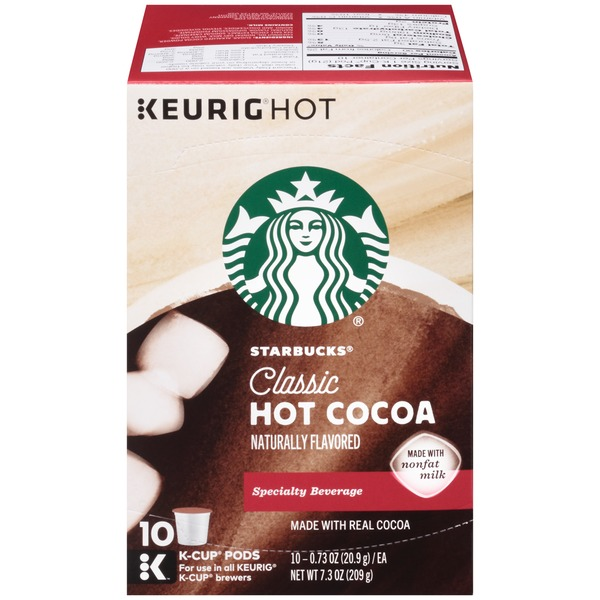 Starbucks Classic K-Cup Pods Hot Cocoa