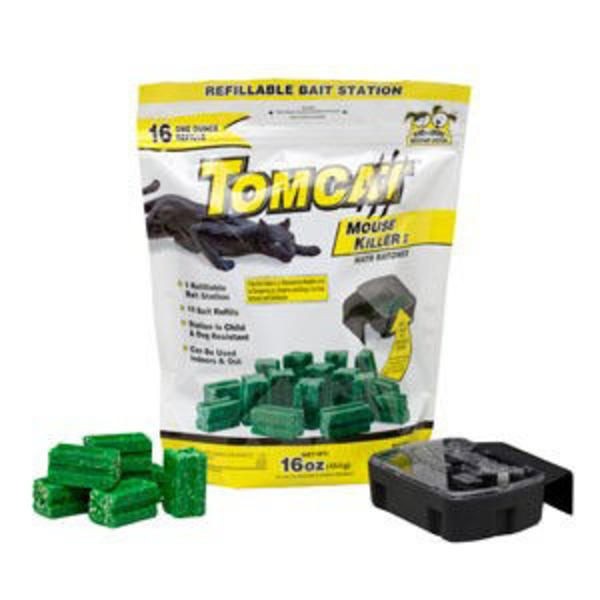 Tomcat Mouse Killer 1 Refillable Bait Station