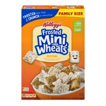 Kellogg's Frosted Mini-Wheats Bite Size Cereal, 24 Oz