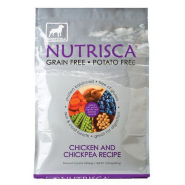Dogswell Nutrisca Chicken & Chickpea Recipe Dog Food