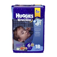 Huggies Overnites Size 6 Diapers