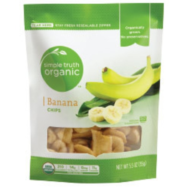 Simple Truth Organic Banana Chips