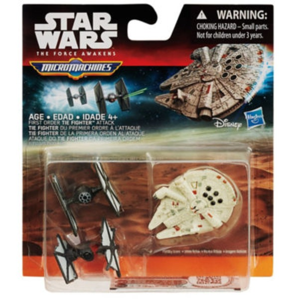 Hasbro Star Wars: The Force Awakens Micro Machines Assorted 3 Packs
