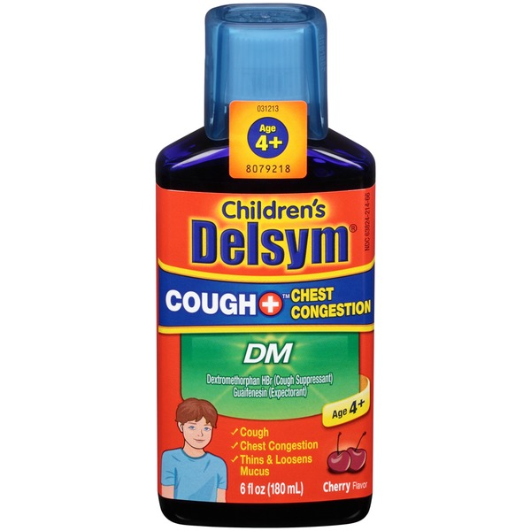 Delsym Childrens Cough Plus Chest Congestion Multi-Symptom