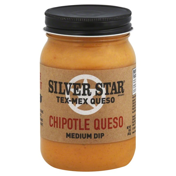 Silver Star Queso, Tex-Mex, Chipotle Queso, Medium Dip