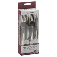 Mozaik Heavy Weight Plastic Forks