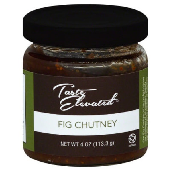 Taste Elevated Fig Chutney