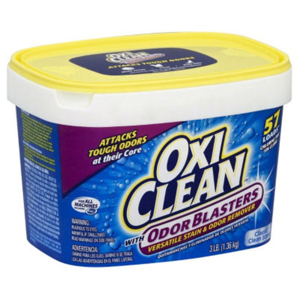 Oxi Clean With Odor Blasters Classic Clean Scent Versatile Stain & Odor Remover