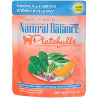 Natural Balance Dick Van Patten's Platefulls Chicken & Pumpkin in Gravy Cat Food