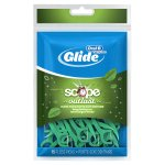 Oral-B Glide Complete with Scope Outlast Mint Flavor Dental Floss Picks 75 Count