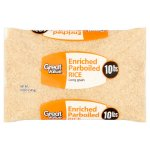 Great Value Enriched Parboiled Rice, 10 lb