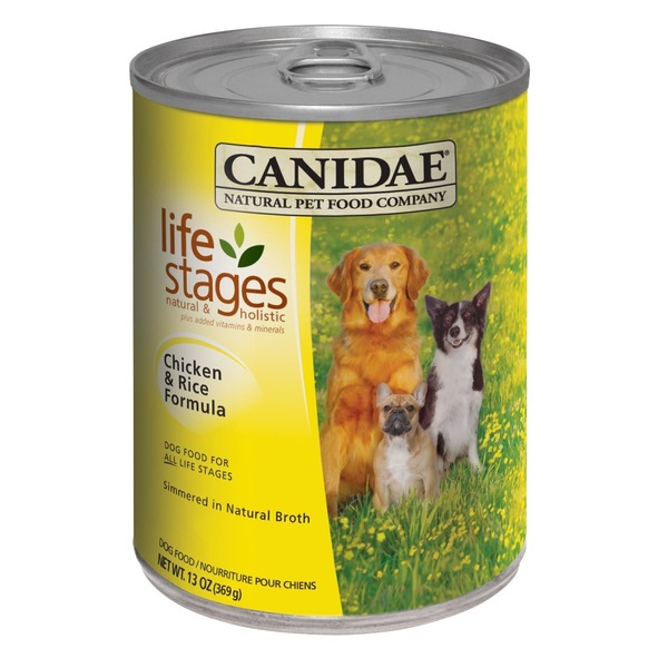 Canidae Life Stages All Life Stages Chicken & Rice Canned Dog Food