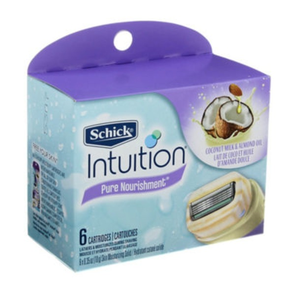 Schick Intuition Pure Nourishment Cartridges
