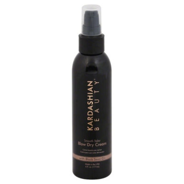 Kardashian Beauty Blow Dry Cream, Smooth Styler, with Black Seed Oil