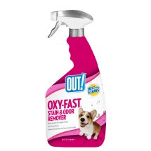 OUT! Oxygen Activated Pet Stain & Odor Remover, 32 oz,
