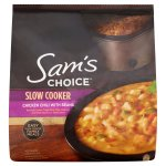 Sam's Choice Slow Cooker Chicken Chili with Beans, 44 oz