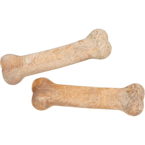 Nylabone Wholesome Chews, Bacon Flavor, Petite Size Twin Pack