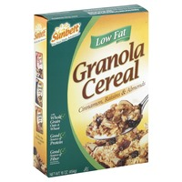 Sunbelt Low Fat Cinnamon, Raisins & Almonds Granola Cereal