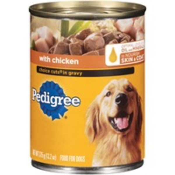 Pedigree Choice Cuts In Gravy with Chicken Wet Dog Food