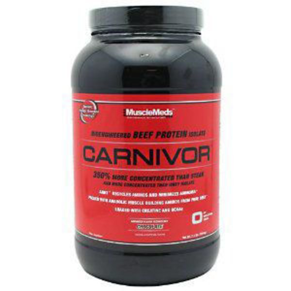 Muscle Meds Carnivor Chocolate Protein Powder