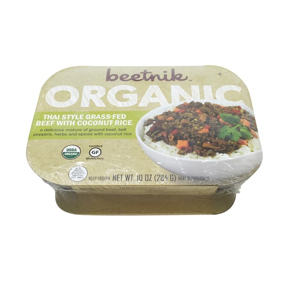 Beetnik Organic Thai Style Grass Fed Beef with Coconut Rice