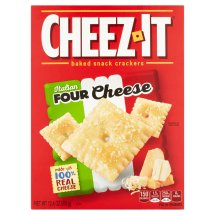 Cheez-It Italian Four Cheese Baked Snack Crackers, 12.4 oz