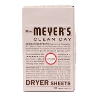 Mrs. Meyer's Clean Day Dry Sheets Lavender - 80 CT