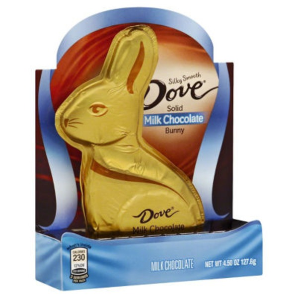Dove Milk Chocolate, Solid, Bunny
