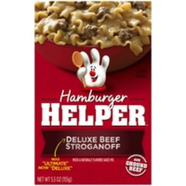 Betty Crocker Deluxe Beef Stroganoff Hamburger Helper