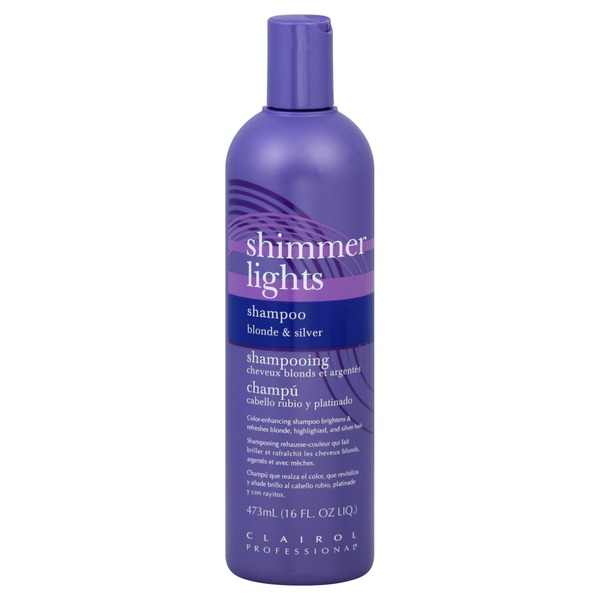 Shimmer Lights Shampoo, Blonde & Silver