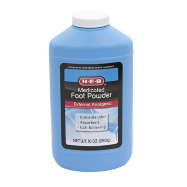 H-E-B Medicated Foot Powder
