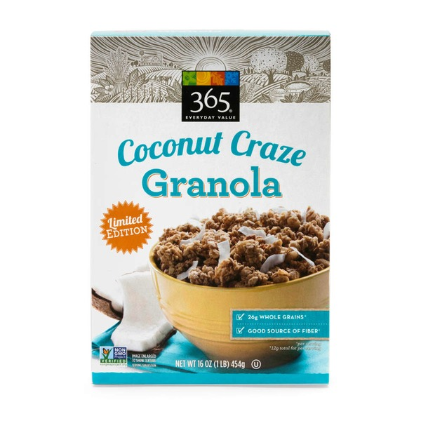 365 Granola Coconut Craze