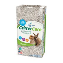 Crittercare: Light Brown/Natural For Small Animals Bedding, 14 L