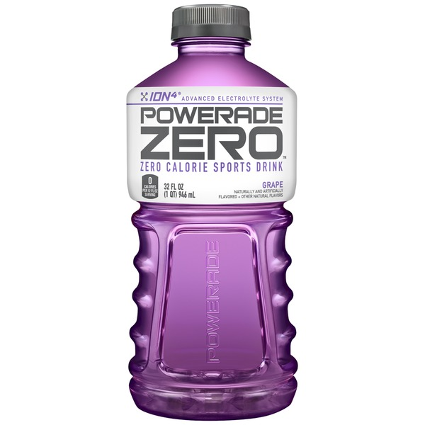 Powerade Zero Zero Calorie Grape Sports Drink
