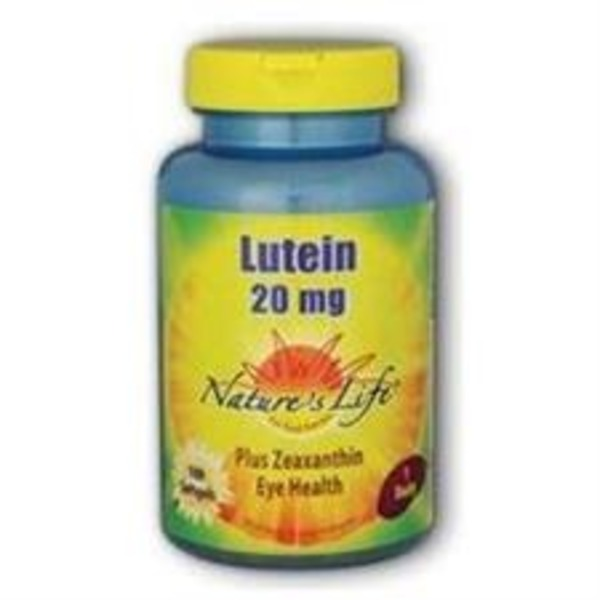 Nature's Life Lutein 20 Mg Softgel