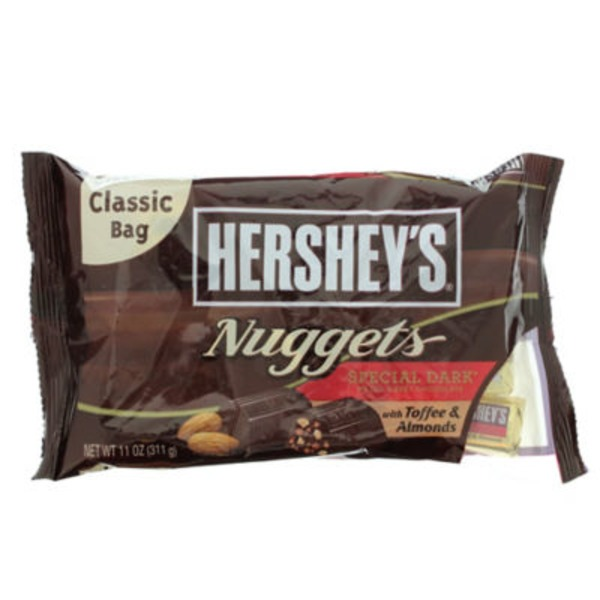 Hershey Nuggets Special Dark with Toffee & Almonds Candy