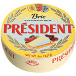 President Brie Soft-Ripened Cheese