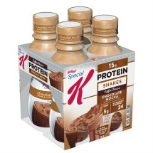 Kellogg's Special K Shake, 15 Grams of Protein, Chocolate Mocha, 10 Oz, 4 Ct