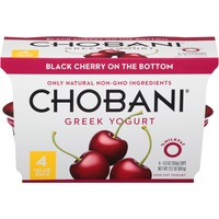 Chobani Black Cherry on the Bottom Non-Fat Greek Yogurt