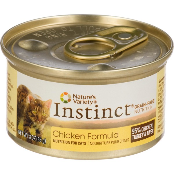 Nature's Variety Cat Food, Chicken Formula