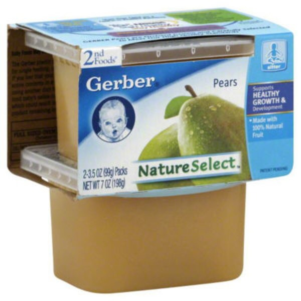 Gerber Pears 2nd Foods