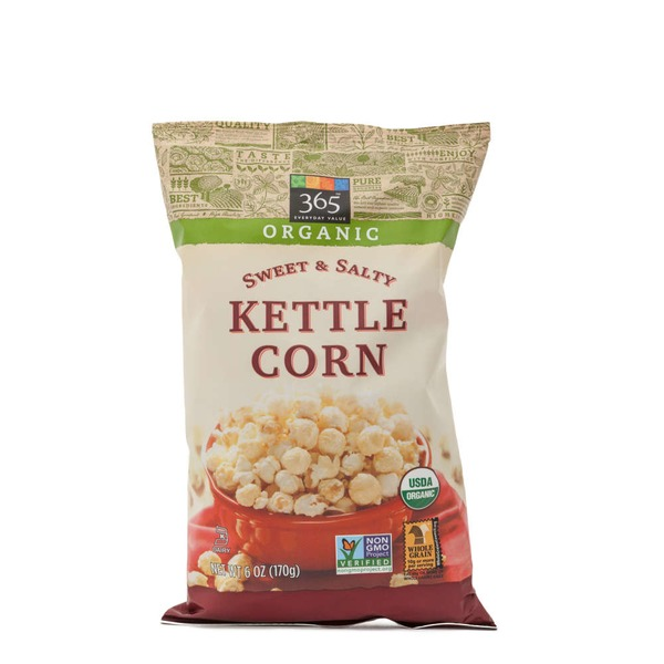 365 Organic Sweet & Salty Kettle Corn