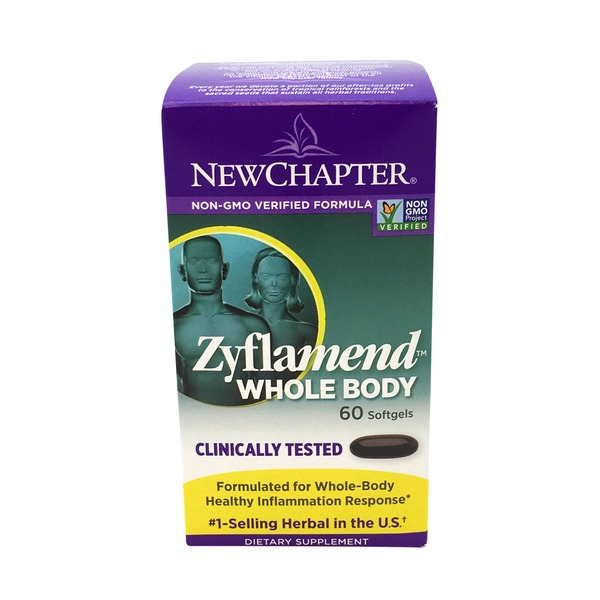 New Chapter Zyflamend Whole Body Dietary Supplement