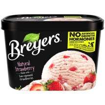 Breyers Strawberry All Natural, 1.5 qt