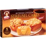 Little Debbie Cream Cheese Streusel Cakes, 8 count, 13 oz
