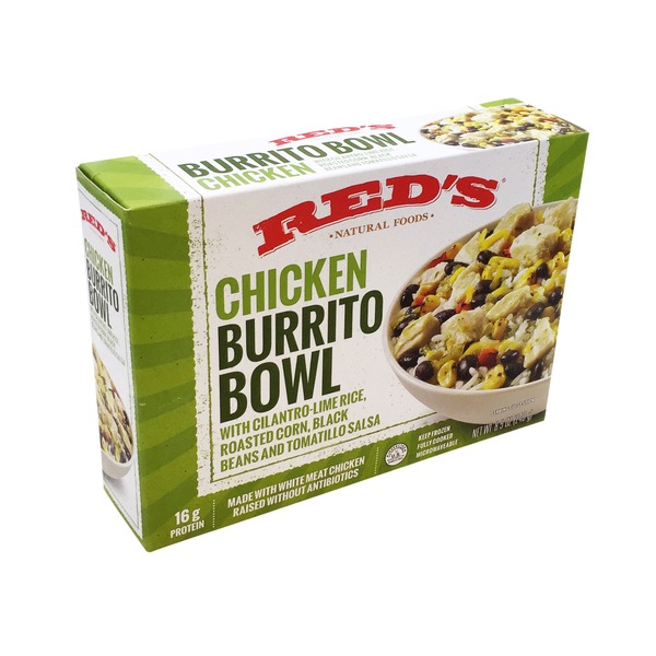 Red's Chicken Burrito Bowl