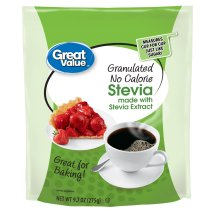 Great Value Granulated Stevia Sweetener, No Calorie, 9.7 oz