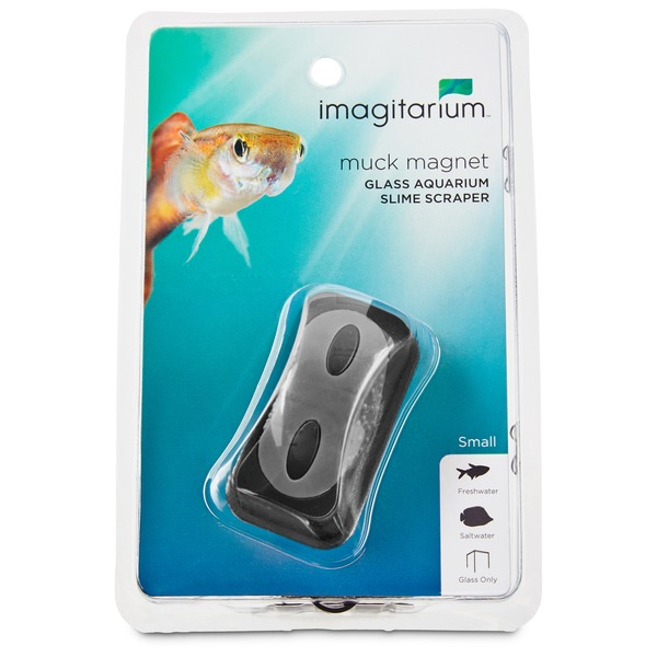 Imagitarium Small Muck Magnet Glass Aquarium Scraper