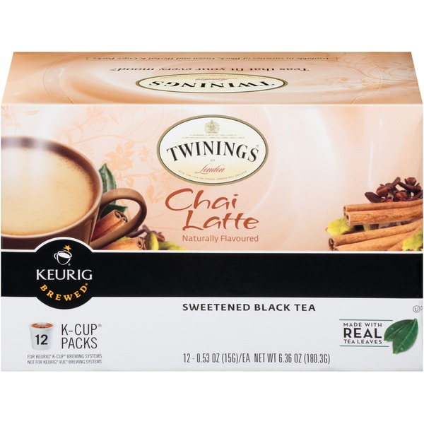 Twinings Chai Latte Tea K-Cup Pods