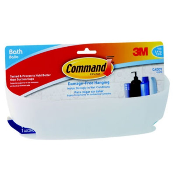 3m Command 3M Command Bath Caddy